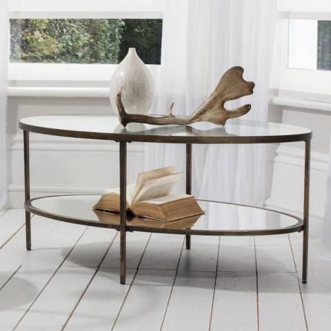 Gallery Bronze Hudson Coffee Table