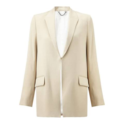 Jigsaw Womens Cream Artisan Jacket