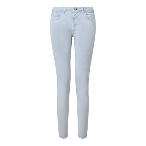 Jigsaw Womens Pale Blue Cotton Stretch Richmond Jeans
