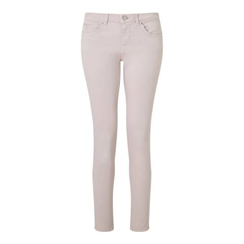 Jigsaw Womens Pale Pink Cotton Stretch Richmond Jeans