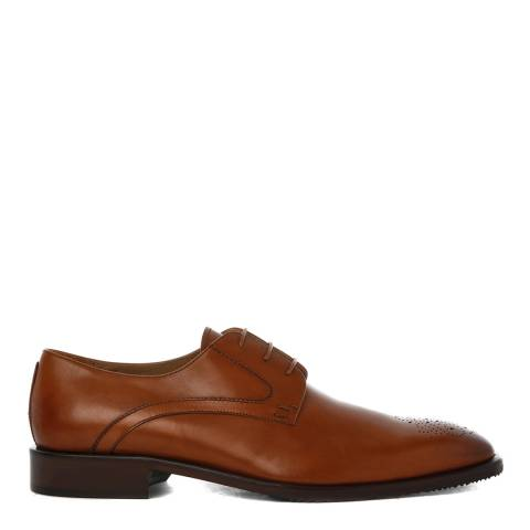 Oliver Sweeney Tan Brown Leather Peschici Derby Shoe