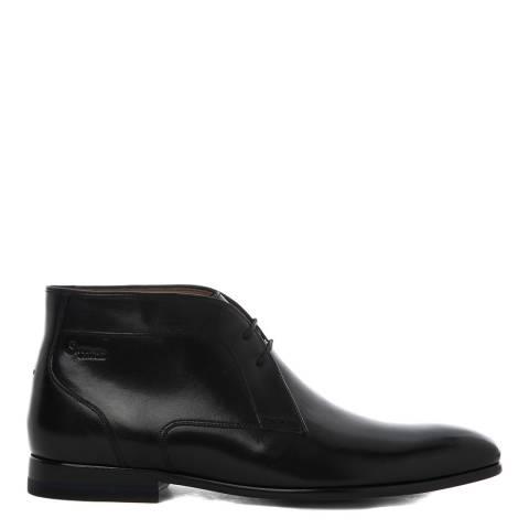 Oliver Sweeney Black Leather Temes Margil Boots