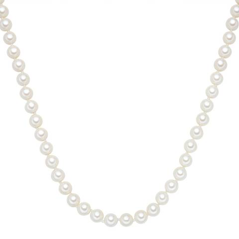 Pearls of London White Pearl Necklace 8mm, 120cm
