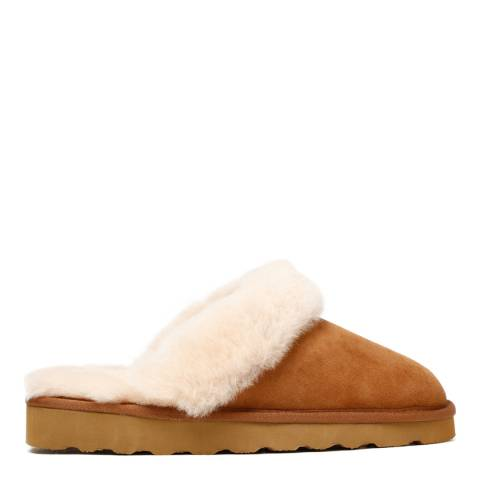 Australia Luxe Collective Chestnut Suede Classic Slippers