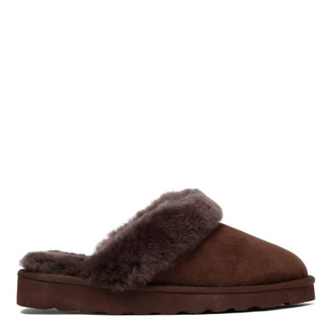 Australia Luxe Collective Brown Suede Classic Slippers