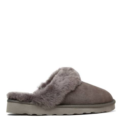 Australia Luxe Collective Grey Suede Classic Slippers