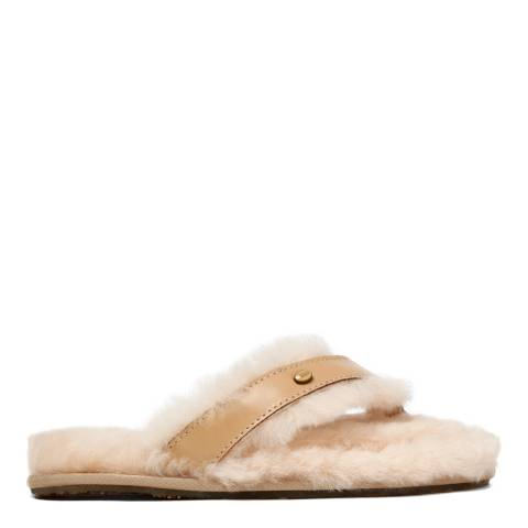 Australia Luxe Collective Sand Leather Flip Flop Slippers