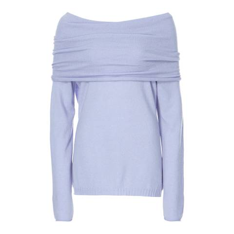 Scott & Scott London Baby Blue Jessica Jaffa Cashmere Jumper
