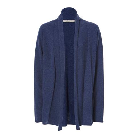 Scott & Scott London Dark Denim Ellie Cashmere Jacket