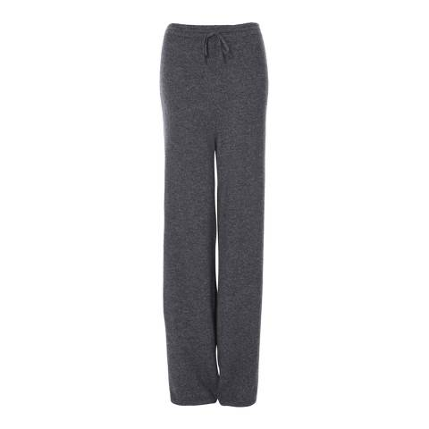 Scott & Scott London Derby Grey Wide Leg Cashmere Joggers