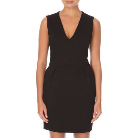 Joseph Black Flora Heavy Jersey Dress