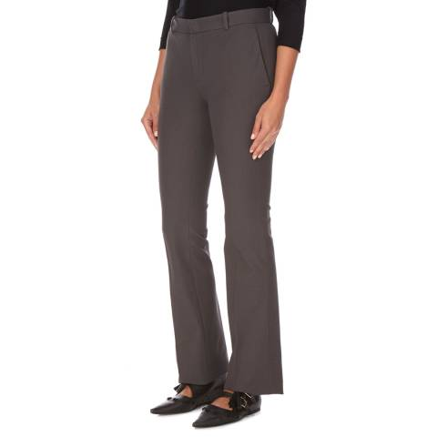 Joseph Grey Cotton Stretch Trousers