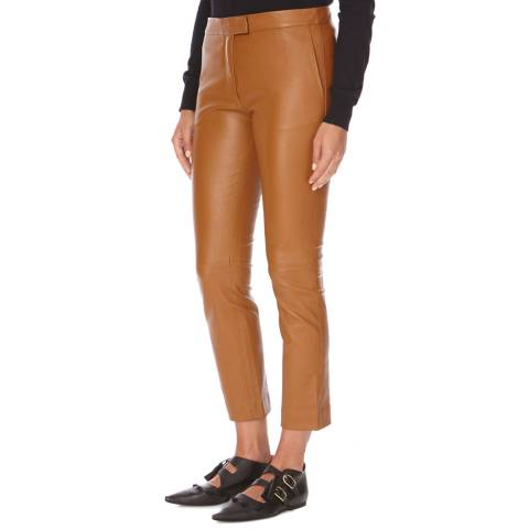 Joseph Brown Finley Leather Stretch Trousers