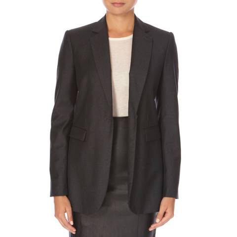Joseph Dark Grey Wool Laurent Blazer