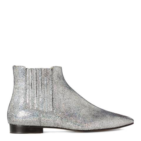 Joseph Silver Leather Star Boot