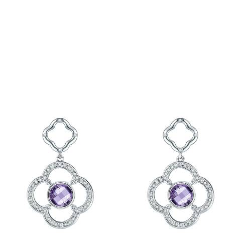 Lilly & Chloe Silver Earring Crystals from Swarovski Elements