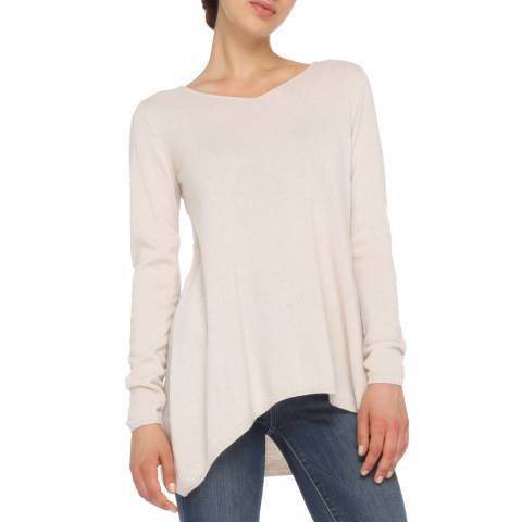Love Cashmere Dove Oversized Cashmere Blend Jumper