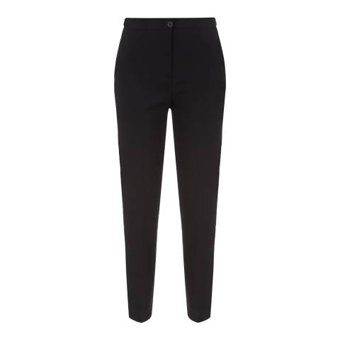 Jaeger Black Stretch Tailored Workwear Trousers