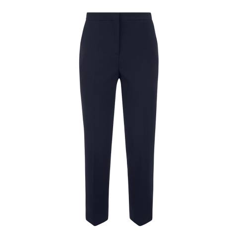 Jaeger Navy 7/8 Workwear Trousers
