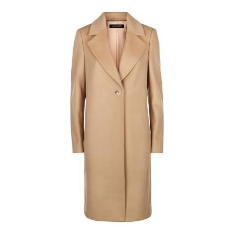 Jaeger Camel Wool Blend Coat