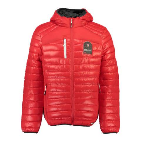 Geographical Norway Men's Red Barda Parka
