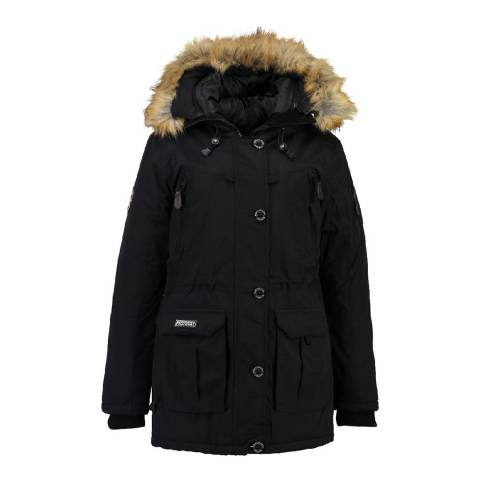 Geographical Norway Black Airline Lady Jacket