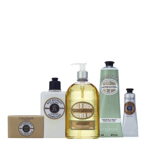 L'Occitane Almond & Shea Collection Worth £104 Save 30%