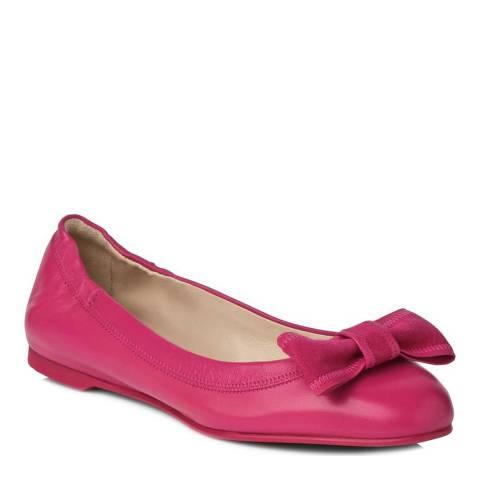 L K Bennett Pink Zelda Ballerina Flat Shoes