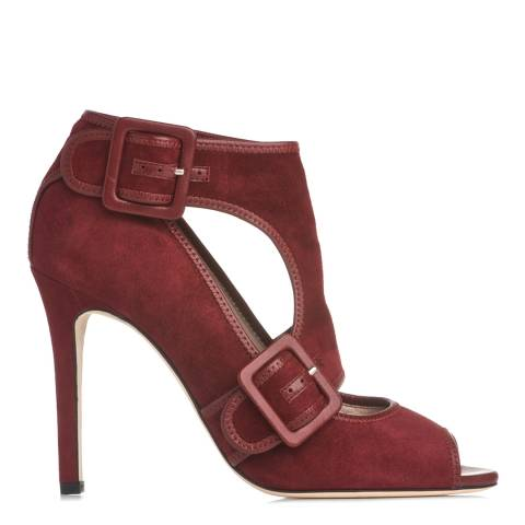 L K Bennett Mulbery Suede Tamia Sandals