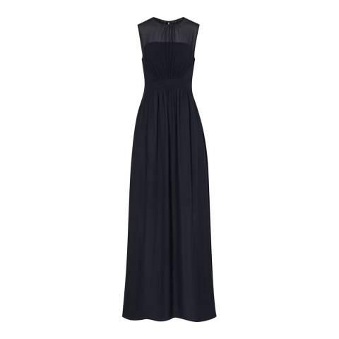 Reiss Dark Navy Clara Maxi Dress