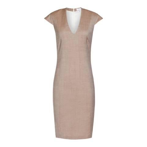 Reiss Pink Tailored Turner Dress