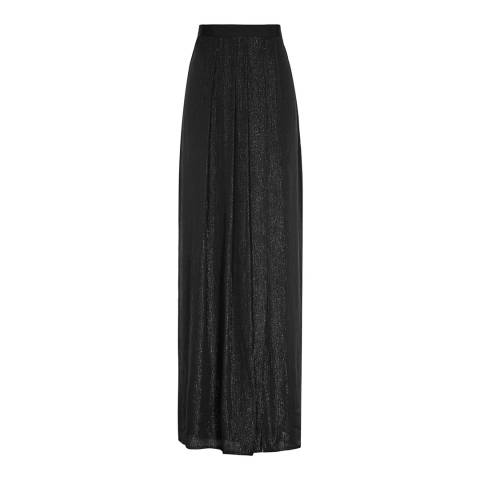 Reiss Black Manhattan Maxi Skirt