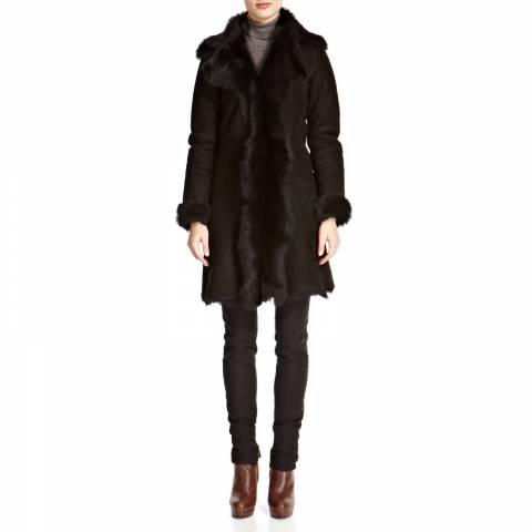 Shearling Boutique Black shearling coats