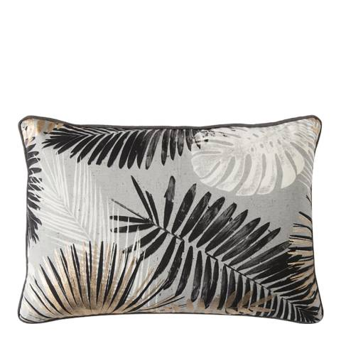 Gallery Monochrome/Gold Palm Leaves Cushion 35x50cm