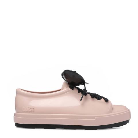 Melissa Blush Contrast Disney Be Lace Up Sneakers