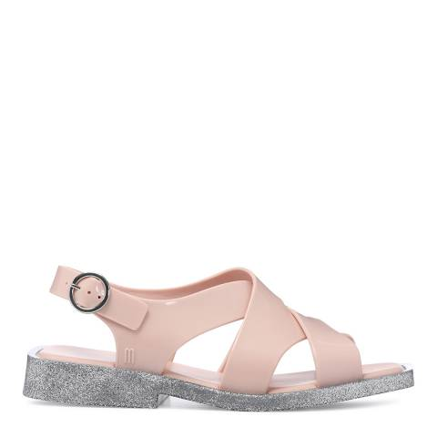 Melissa Blush Glitter Melrose Sandals