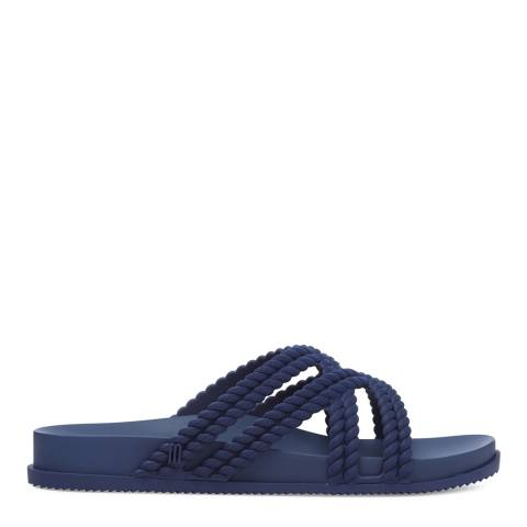 Melissa Navy Salinas Cosmic Rope Sandals