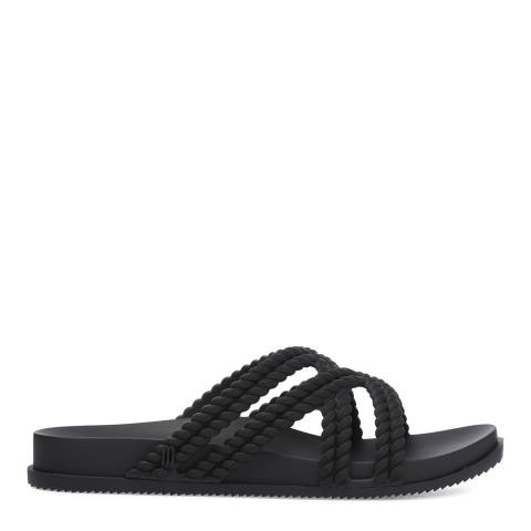 Melissa Black Salinas Cosmic Rope Sandals