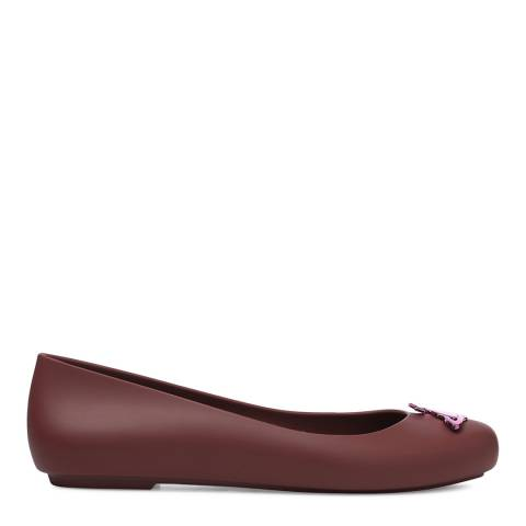 Vivienne Westwood for Melissa Plum Space Love 19 Orb Ballet Pumps