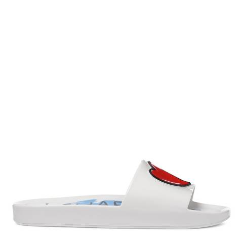 Vivienne Westwood for Melissa White Prince Charming Slides