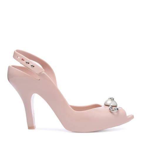 Vivienne Westwood for Melissa Blush Pin Lady Dragon 19 Peep Toe Heels