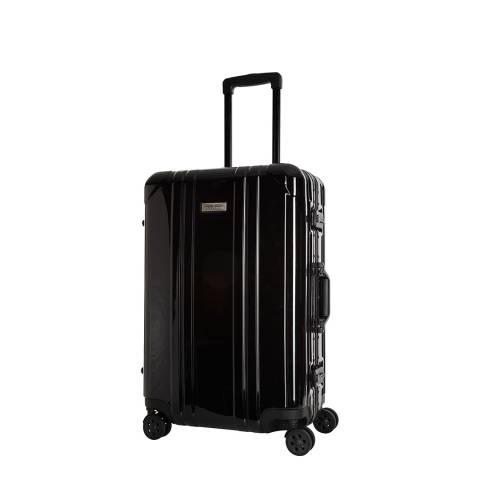 Platinum Black Cabin Spinner Keihley Suitcase 46cm