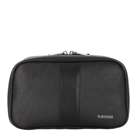Platinum Black Wash Bag