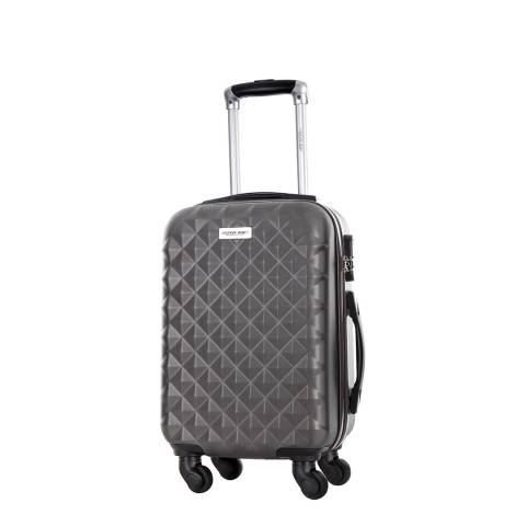 Travel One Grey Cabin Spinner Edison Suitcase 45cm