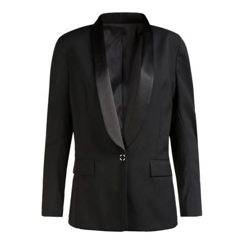 J.Lindeberg Womens Black Frida SC Tux Spring Wool Blazer