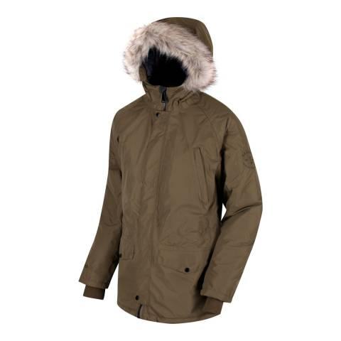 Regatta Camo Green Waterproof Salton Coat