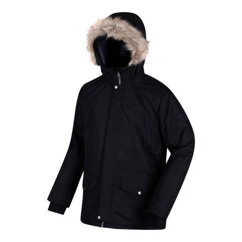 Regatta Black Waterproof Salton Coat