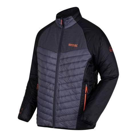 Regatta Grey/Black Halton Coat