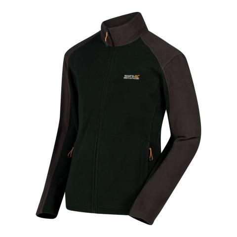 Regatta Dark Green/Grey Hedman II Fleece