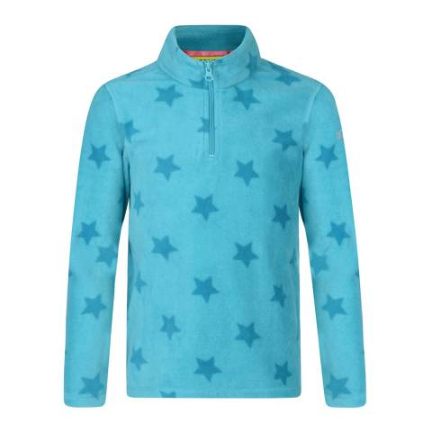 Regatta Aqua Star Lovely Jubblie Overhead Fleece